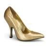BOMBSHELL-01G Gold Glitter Patent